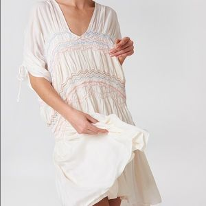 NWOT Free People Love Of The Run Midi Dress